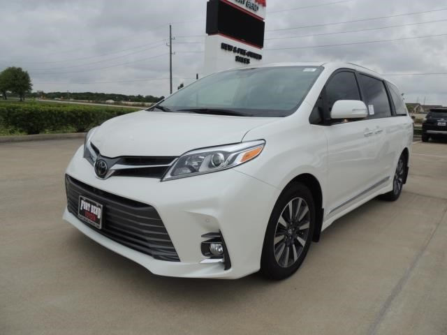 Toyota Richmond Indiana >> New 2019 Toyota Sienna Limited Premium Front Wheel Drive Mini Van Passenger In Stock